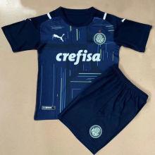 2021/22 Palmeiras Blue GK Kids Soccer Jersey