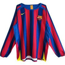 2005/2006 BA Home Long Sleeve Retro Soccer Jersey