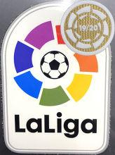Spain Laliga Patch +19/20 Champion Circle 西甲胶章+19/20金圆环