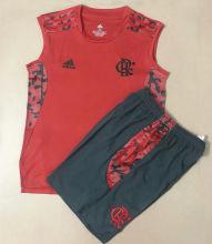 2021/22 Flamengo Red Kids Training Vest