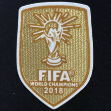 FIFA WORLD CHAMPIONS 2018 Patch 2018世界杯黄底法国用杯