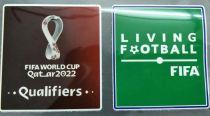 FIFA WORLD CUP Qatar 2022 + LF Patch 2022 年世界杯胶章+绿胶章