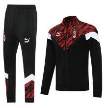 2021/22 AC Milan Red Black Jacket Tracksuit