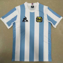 1986 Argentina Home Commemorative EditionRetro Soccer Jersey