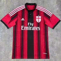2014/2015 AC Milan Home Retro Soccer Jersey