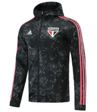 2021 Sao Paulo Black Windbreaker