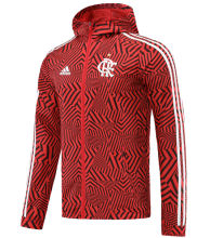 2021 Flamengo Black Red Windbreaker
