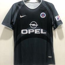 2001/2002 PSG Away Retro Soccer Jersey