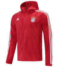 2021 BFC Red Windbreaker