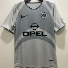 2001/2002 PSG Third Retro Soccer Jersey