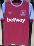 LINGARD # 11 West Ham 1:1 Quality Home Fans Soccer Jersey 2020/21