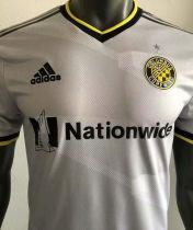 2021 Columbus Crew SC White Player Version Soccer Jersey
