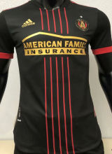 2021 Atlanta United Black Player Version Soccer Jersey