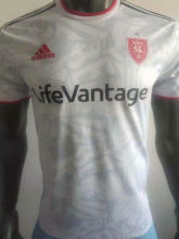 2021 Real Salt Lake White Player Version Soccer Jersey