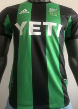 2021 Austin Home Green Black Player Version Soccer Jersey