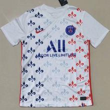 2021 PSG  White Fans Soccer Jersey