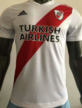 2021 River Plate Home Red And White Player Soccer Jerseys