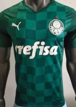 2021/22 Palmeiras Home Green Player Version Soccer Jersey