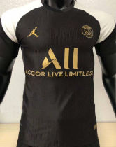 2021 PSG JD Black Player Version Soccer Jersey
