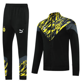 2021/22 BVB Black And Yellow Jacket Tracksuit