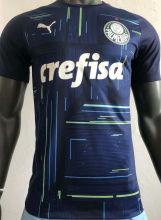 2021/22 Palmeiras Blue GK Player Version Soccer Jersey