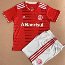 2021/22 International Home Red Kids Soccer Jersey