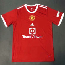 2021/22 M Utd Home Red Fans Soccer Jersey