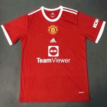 2021/22 M Utd Home Red Fans Soccer Jersey