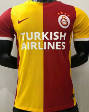 2021 Galatasaray Red Yellow Player Soccer Jerseys