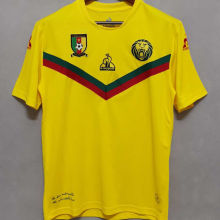 2021 Cameroon Awya Yellow Fans Soccer Jersey