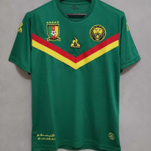 2021 Cameroon Home Green Fans Soccer Jersey