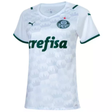2021/22 Palmeiras Away White Women Soccer Jersey