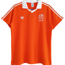1990/92 Netherlands Home Orange Retro Jersey