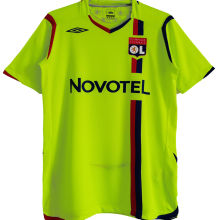 2008/09 Lyon Third Green Retro Soccer Jersey