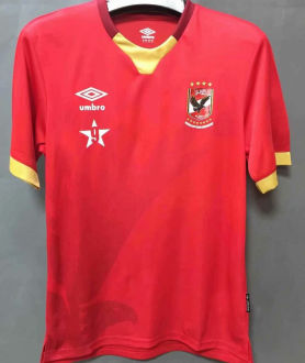 2021 Al Ahly SCl Home Red Fans Soccer Jersey