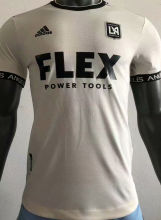 2021 LAFC Away White Player Version Soccer Jersey
