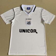 1999 Santos Home White Retro Soccer Jersey