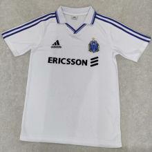 1999/2000 Marseille Home White Retro Soccer Jersey