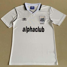 2001 Santos Home White Retro Soccer Jersey