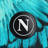 2021 Napoli Marcelo Burlon Limited Edition Black Fans Soccer Jersey