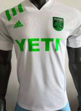 2021 Austin Away White Player Version Soccer Jersey