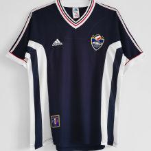 1998 Yugoslavia Home Blue Retro Soccer Jersey