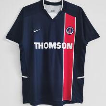 2002/2003 PSG Home Retro Soccer Jersey