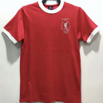 1965 LFC Home Red Retro Soccer Jersey