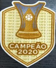 Brazilian CAMPEAO 2020 Champions Patch 2020巴西超级杯冠军章