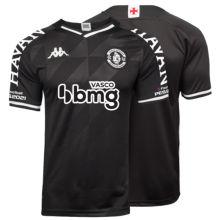 2021/22 Vasco 1:1 Quality Third Black Fans Soccer Jersey  ALL AD 全广告