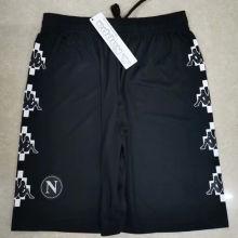 2021 Napoli Marcelo Burlon Limited Edition Black Shorts Pants