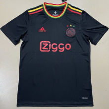 2021/22 Ajax Third Black Fans Soccer Jersey