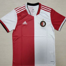 2021/22 Feyenoord Home Red White Fans Soccer Jersey
