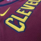 Cleveland SMITH JR. # 5 Claret NBA Jerseys Hot Pressed